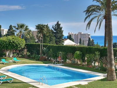 Photo for One bedroom Apartment, sleeps 3 in Fuengirola with Pool, Air Con and WiFi