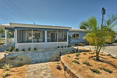 Soak up the Florida sun in this vacation rental bungalow in Cocoa Beach.