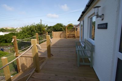 Newhaven and front decking