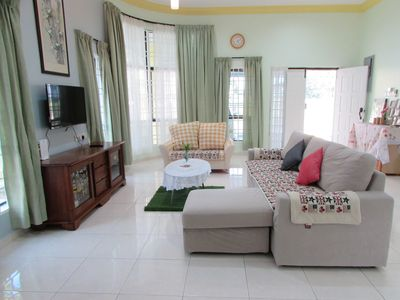 Photo for LohasIpohHomestay,3BR Bunglow,7pax,1min to Cameron