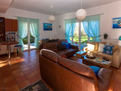 Photo for Villa LEVANTA, quiet and relaxing place in 1.9km away from the nearest  beach
