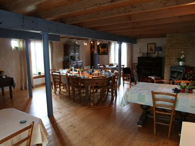 Photo for Tide mill, feet in water, 5 bedrooms with private bathrooms