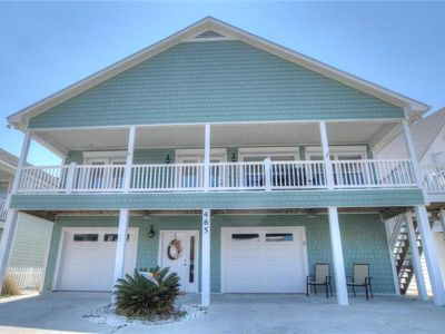 Photo for Not Too Crabby: 5 BR / 3 BA single family home in Kure Beach, Sleeps 14