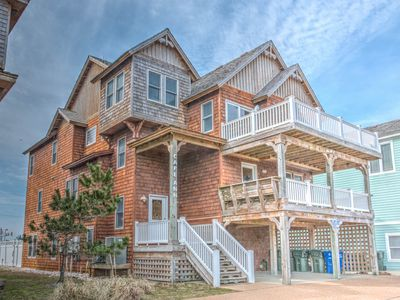 Photo for K1155 Cape Ann.Semi-Oceanfront with Pool & Elevator, 4 Identical Homes in Row