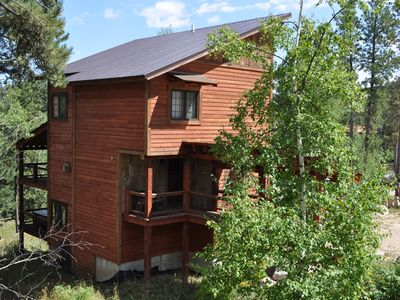 Photo for Heart of Gold Cabin with 3 master suites!