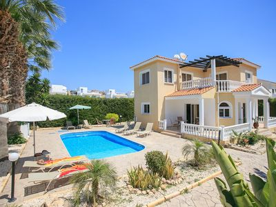 Photo for Villa Anastasia: Large Private Pool, Walk to Beach, A/C, WiFi, Car Not Required, Eco-Friendly