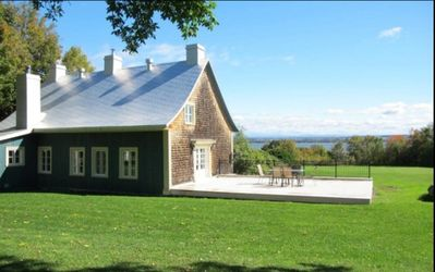 Photo for Beautiful Ancestral Property (entire house) - Quebec - St-Jean Ile-D'Orleans