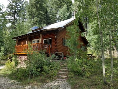 Photo for Log Cabin in the National Forest