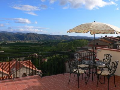 Photo for Attractive village house with stunning views.