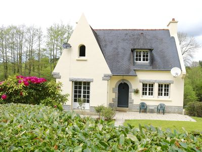 Photo for 3BR House Vacation Rental in Treffrin, Bretagne