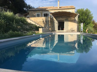 Photo for Old Provencal farmhouse in the countryside.