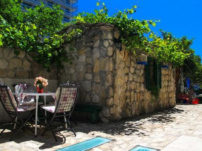 Photo for Studio flat with air-conditioning Makarska (AS-15200-c)