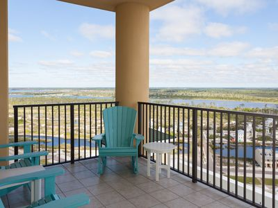 Photo for Affordable Rates For This 3 Bedroom Condo With Lagoon Views on the 19th floor at Phoenix West 2!