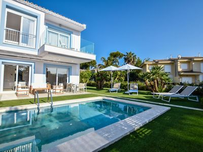 Photo for This 3-bedroom villa for up to 6 guests is located in Puerto Alcudia and has a private swimming pool