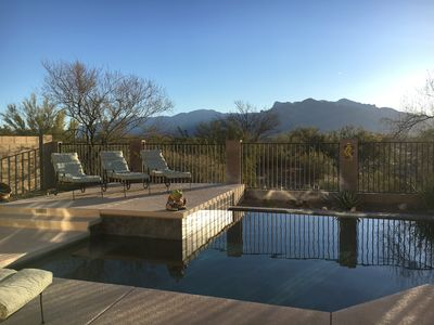 Photo for Relax at Desert Dream w/Mountain Views, Private Saltwater Pool & Nurturing Spa