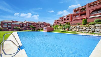 Photo for Luxury Duplex Penthouse Apartment with Wifi, Pool, Gardens, Beach and Sea Views