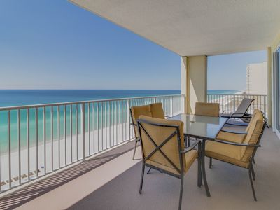 Photo for Upgraded oceanfront escape w/pools, sauna, hot tub - snowbirds welcome!