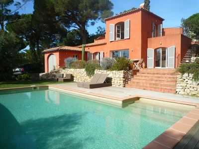 Photo for Holy maxim Villa nartelle the nearest beach, sea view and pool