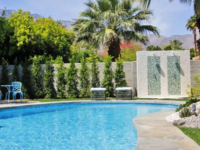 Photo for The Kirk Douglas House - Iconic Mid Mod Vacation Home!