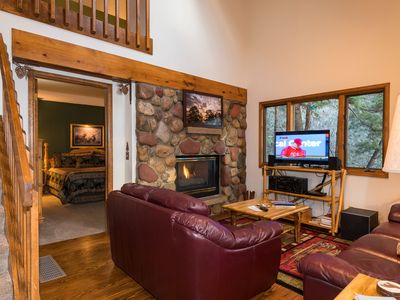 Photo for Perfect Family Cabin - Walk into RMNP and just steps from the Big Thompson River