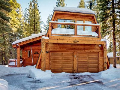 Photo for Dog-friendly cabin w/ a shared pool, hot tub, & gym - close to hiking & skiing