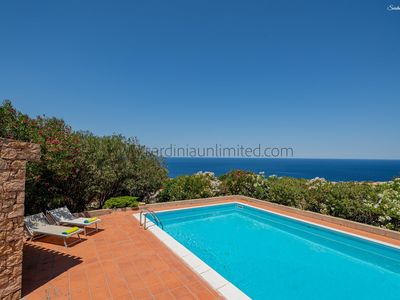 Photo for Porcospino: sea-view and pool