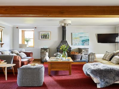 Photo for Loved for family holidays and friends reunions, Tynrhyd Farm House is the ultimate retreat to get to