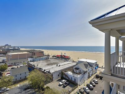 Photo for Your Perch Overlooking OCMD - Gorgeous Boardwalk Condo (Side) w/ Pool