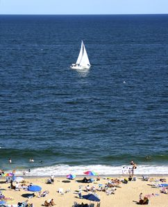 Atlantic Ocean Front with large beach at SEA WATCH...