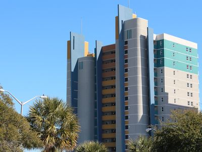 Photo for Pristine Oceanfront Myrtle Beach 2 Bedroom Condo Free WiFi