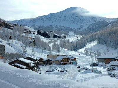 Photo for Homerez last minute deal - Amazing apt - 50 m from the slopes