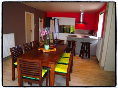 Superb cottage L'Archipel completely new, spacious, original and comfortable.