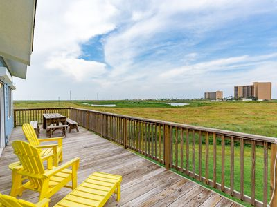 Photo for Boardwalk to the Beach in Port A – 3BR, Sleeps 10