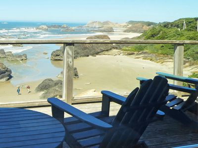 Photo for Luxury Oceanfront - The Cove at Seal Rock