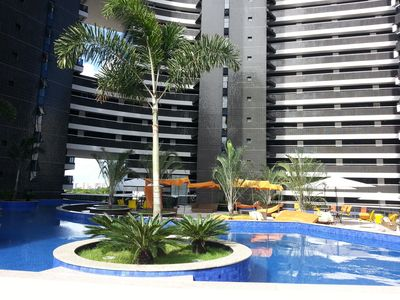 Photo for Landscape Beira Mar. 17 * floor, Balcony with screen!