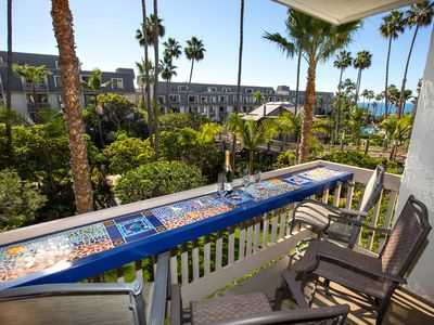 Photo for Beautiful Ocean View, Single-Level Beach Condo at NCV