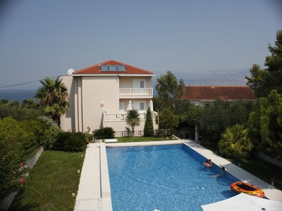 Photo for Holiday apartment Splitska for 1 - 4 persons - Luxury holiday home