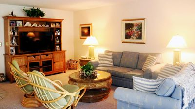 Photo for Kings Crown #109 2 bedroom condo, handicap accessible, pool and tennis, Wireless internet