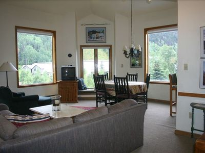 Photo for 3BR Light & Airy Condo Across from Ski Lift in Charming Historic Telluride