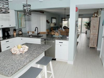 Photo for On the Beach•Heated Pool & Hot Tub• Beach Chairs•Stocked Kitchen•2 Balconies