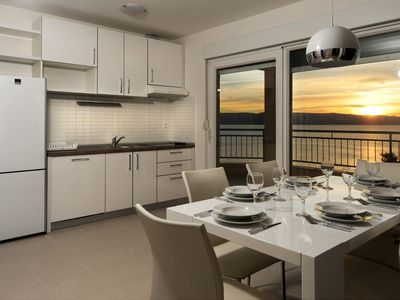 Photo for City break luxury apartment with private beach