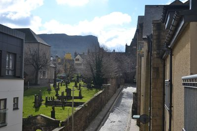 View from the living room at Old Tolbooth Wynd