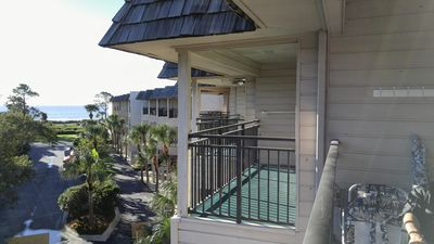 Photo for Beach ahead!  Beachfront property condo
