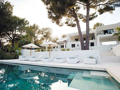 Photo for Es Cubells Villa, Sleeps 10 with Pool and Air Con