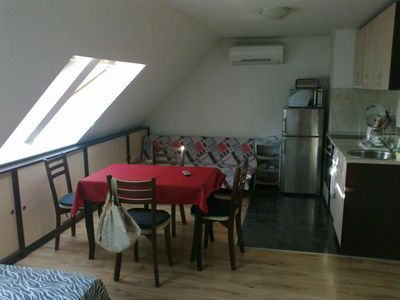 Photo for Comfortable studio near Metro Station, near City Center and the Mall Of Sofia