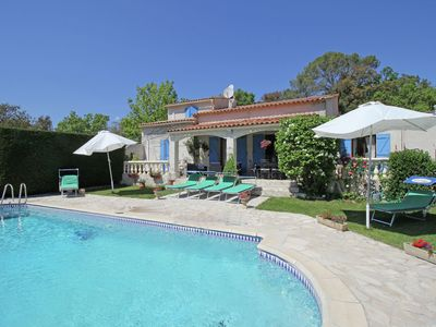 Photo for Gorgeous Holiday Home in Bagnols-en-Forêt with Private Pool