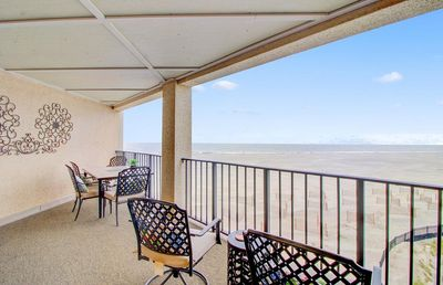 Enjoy the Outstanding Ocean Views from the Balcony