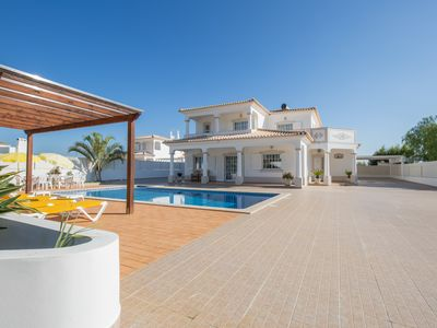 Photo for Large Spacious 4 Bed Villa With Private Pools, Air Conditioning And Sea Views