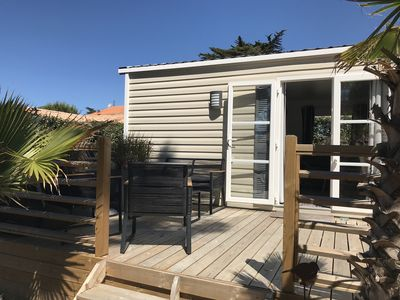 Photo for Beautiful mobile home near the beach