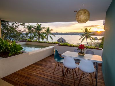 Photo for * NEWLY BUILT RESIDENCE* 2 Bedroom Beachfront Residence With Panoramic Views